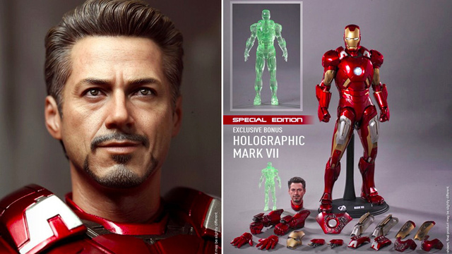 Insanely Detailed 1/6th Scale Figure Is the Closest You'll Get To Owning an Iron Man Suit