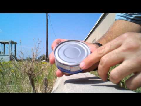 Click here to read Open Food Cans with Concrete Parking Stops