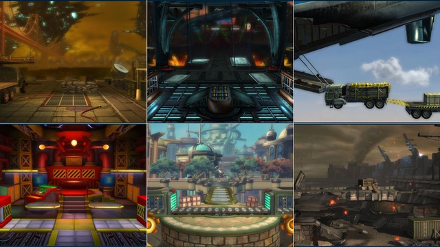 These Sure Look Like the Stages You'll See in PlayStation All-Stars Battle Royale
