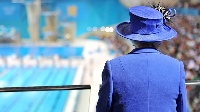 Queen Elizabeth Parachutes into the Olympics and the World Giggles with Delight