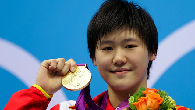 A 16-Year-Old Chinese Woman Outpaces Ryan Lochte's Twinkling Blue Eyes