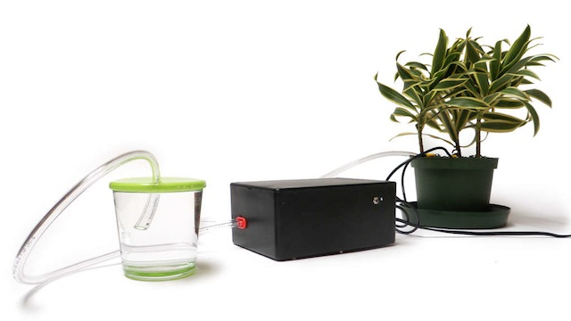 Click here to read Build Your Own Electronically Powered Self-Watering Plant System