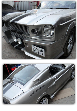 This Shop Turned A Crappy Econobox Into An 'Eleanor' Mustang
