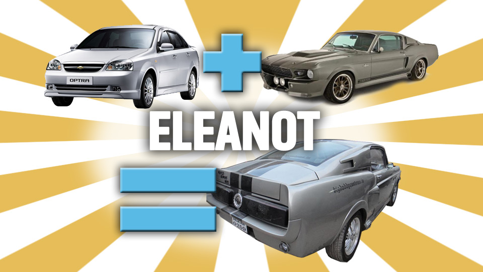 This Shop Turned A Crappy Econobox Into An 'Eleanor' Mustang - Jalopnik