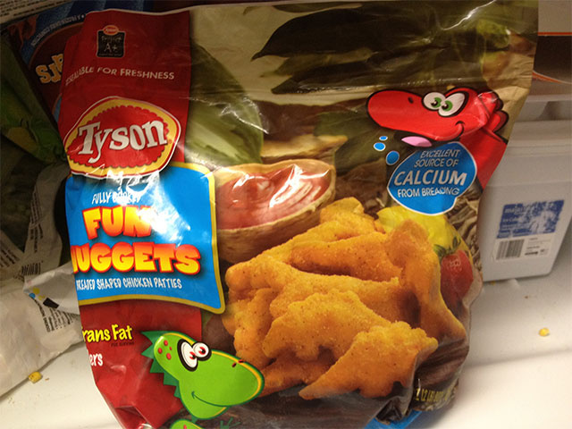 Dinosaur-Shaped Chicken Nuggets: The Snacktaku Review