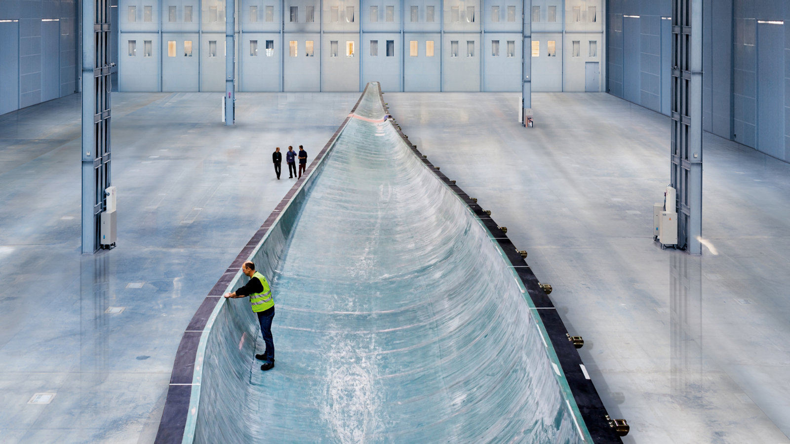 Click here to read The World's Biggest Wind Turbine Blades Are So Long Their Tips Spin at 180 MPH