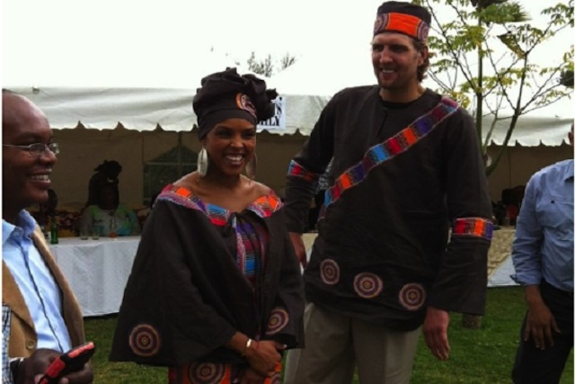 Of Course Dirk Nowitzki Had A Traditional Kenyan Wedding