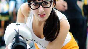 Hipster Chell Was Inside Aperture Before You Even Knew About Aperture