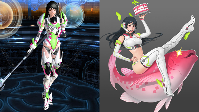 Anime Character 2 : Phantasy star online s character creator brings sci fi