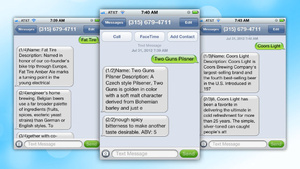 BeerText.Us Delivers Beer Descriptions, Ingredients, and Alcohol Content with a Text Message