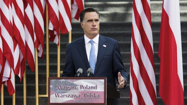 Romney Aide Urges Press to Respect Polish Holy Site by Kissing His Ass and Shoving It