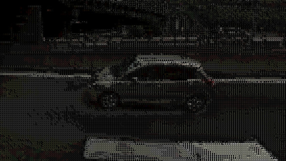 Google Street View Panoramas, Done Retro-Style in ASCII