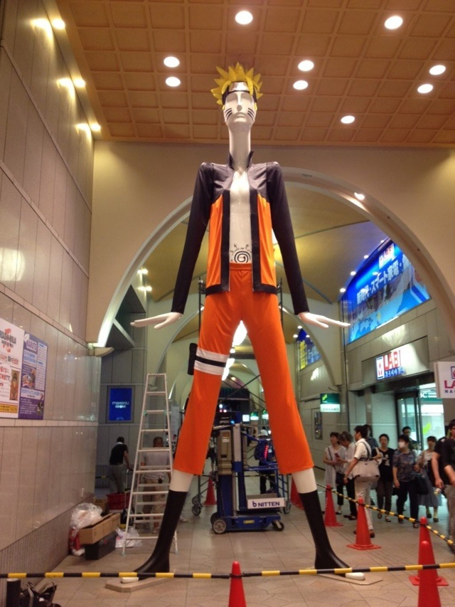 Naruto, All Freakishly Tall and with Breasts