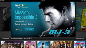 Amazon Instant Video Lands on iPad As Prime Members Weep With Joy