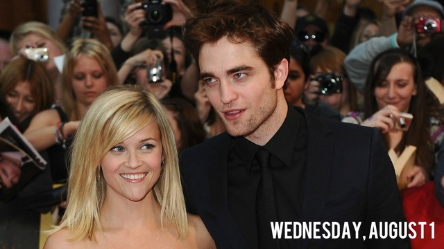 Robert Pattinson Is Drying His Breakup Tears on Reese Witherspoon's Goats