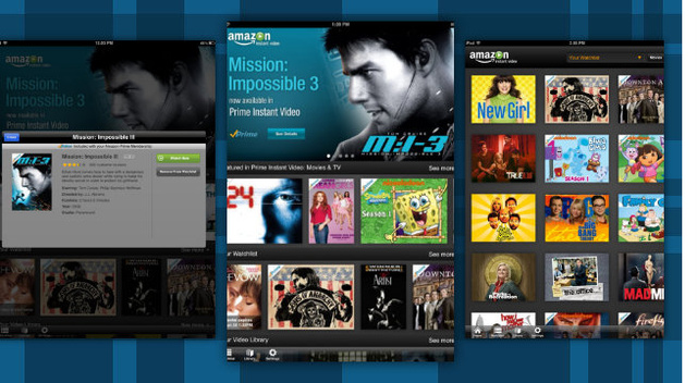 Amazon Instant Video for iPad Brings Free Movie Streaming for Prime Members and Offline Viewing for Purchases