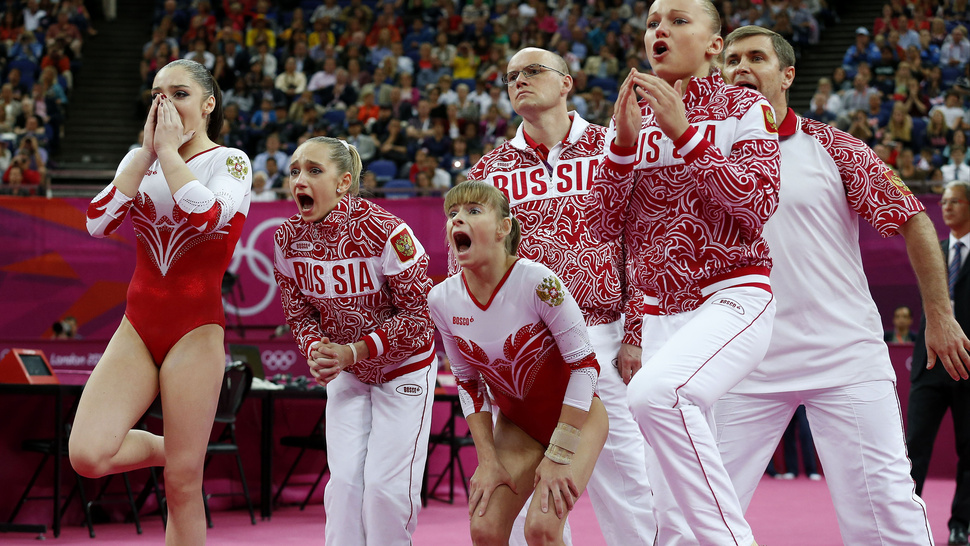 The U.S. Already Had Gold Locked Up After This Disaster From Russia's Floor World Champion, So NBC Didn't Show It To You