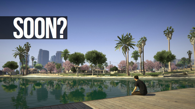 This is Why Some Smart People Think You'll Be Playing Grand Theft Auto V By April