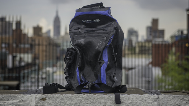 DryCASE Waterproof Backpack Review: Moisture Ain't A Thing ...