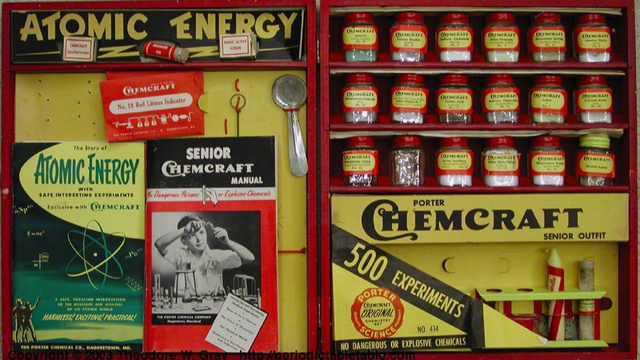 Children's chemistry sets used to contain cyanide