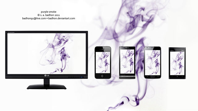 Watch Your Desktop Go Up in a Puff of Smoke with These Wallpapers