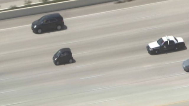 Watch A Smart Car Lead Texas Police On The World's Most Adorable Police Chase