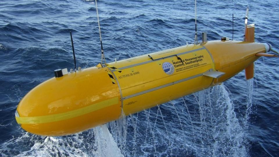 Monster Machines: This Robot Sub Can Chart Nearly Every Inch Of The Ocean
