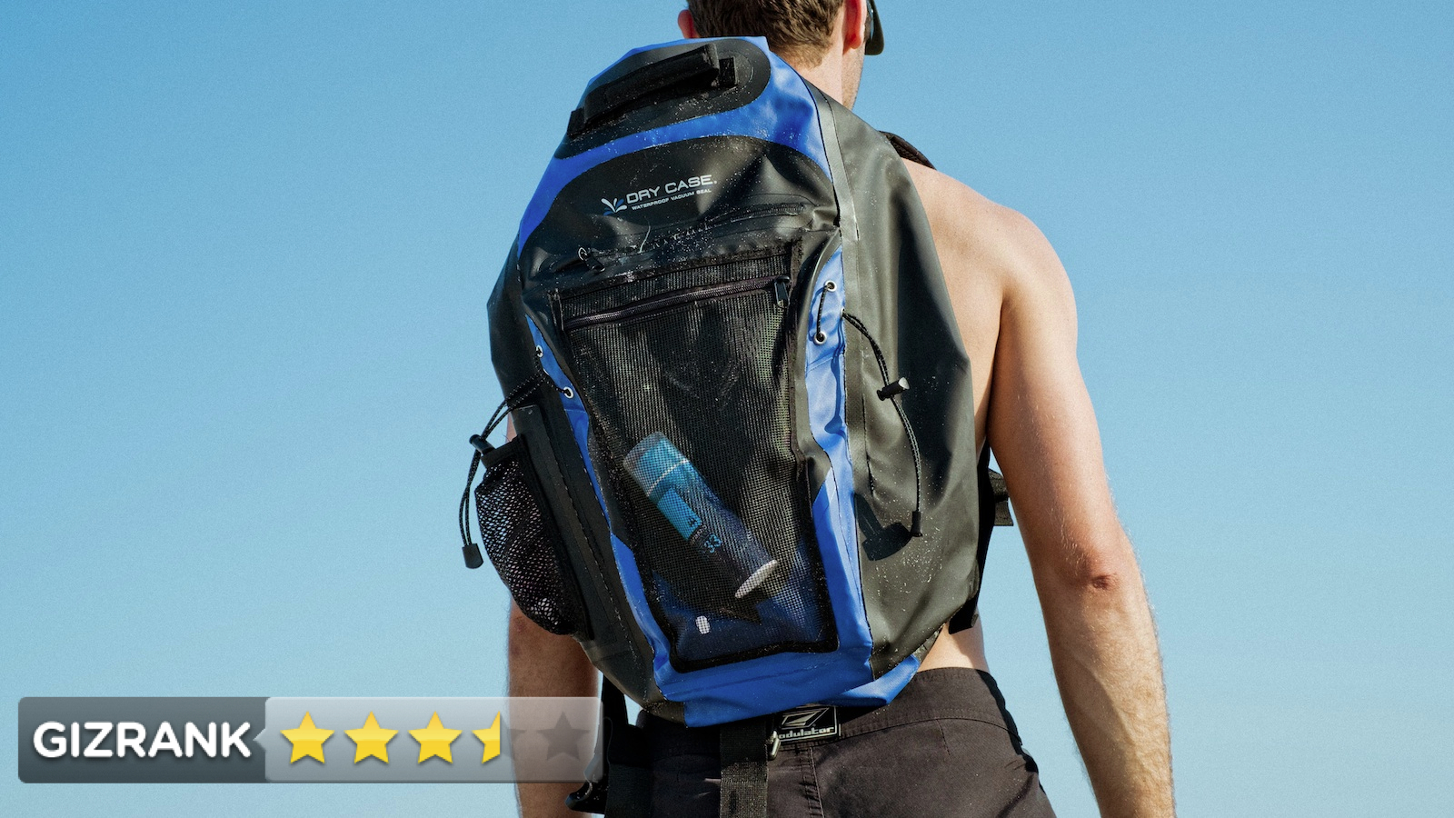 Click here to read DryCASE Waterproof Backpack Review: Moisture ain't a Thing