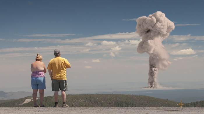 Tourists Watching Nuclear Explosions Make Great Facebook Photos