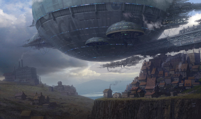 Uncharted's Art Director Can Also Draw Cool Spaceships