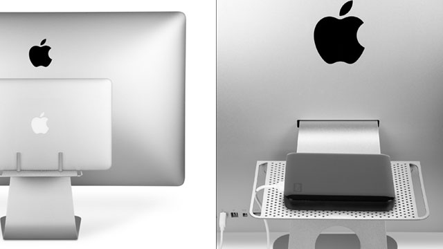 Click here to read The BackPack 2 Puts a Storage Shelf with Cable Management on the Back of Your Mac