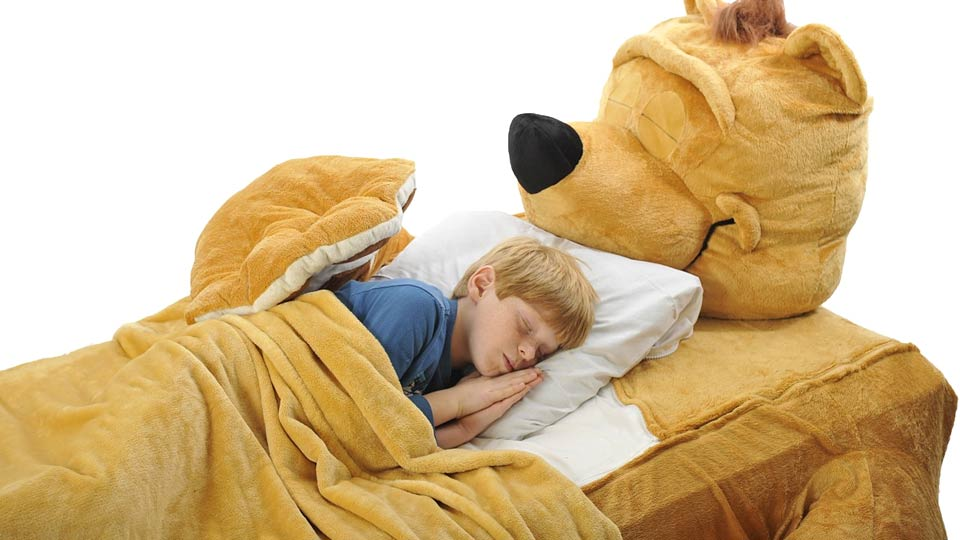 Click here to read This Bed Gives Kids the Wrong Impression About Bear Encounters