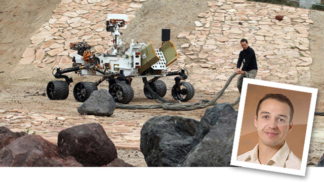 Talk to the Man Who Drives the $2.6 Billion-Dollar Mars Curiosity Rover