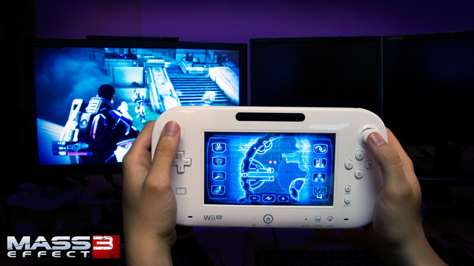 This is What Playing <em>Mass Effect 3</em> on the Wii U Looks Like