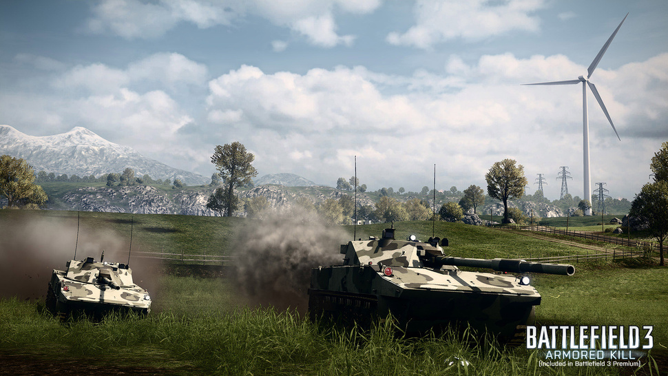 """All-Out Vehicle Warfare"" Roars Down the Road in <em>Battlefield 3: Armored Kill</em> This Fall"