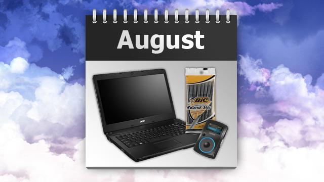 Click here to read The Best Things to Buy in August