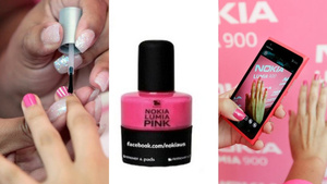 Style Is Dead: Nokia Released a Hot Pink Nail Polish to Commemorate the Release of Its New Pink Lumia