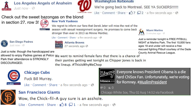 Yesterday's Flood Of Berserk Baseball Team Facebook Posts Were Made By A Rogue MLB Employee