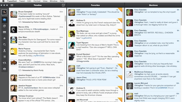 Click here to read Tweetbot for Mac Updates with Column View, a Menu Bar Icon, and More