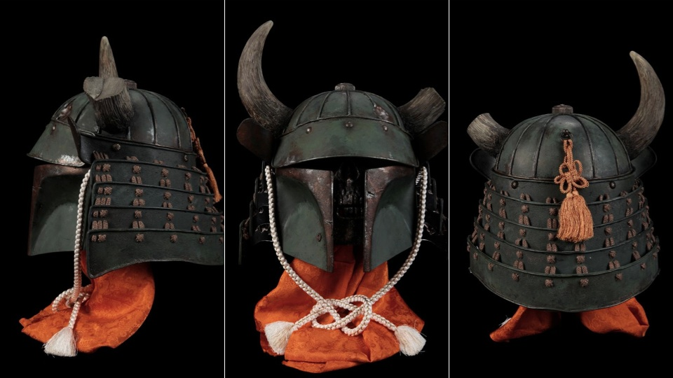 Click here to read Samurai Meets <em>Star Wars</em> in a More Civilized Boba Fett Helmet