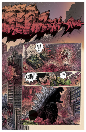 This is probably the best-looking Godzilla comic you've ever read