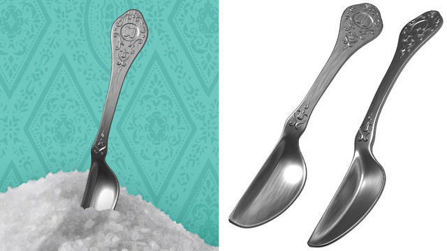 Is This a Half Spoon or Just a Small Spoon or Just Ridiculous?