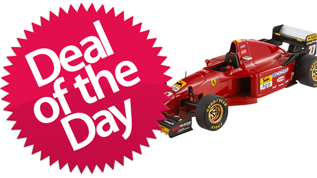 Click here to read This Hot Wheels Elite Ferrari 412 T2 Is Your Vroom-Vroom Deal of the Day