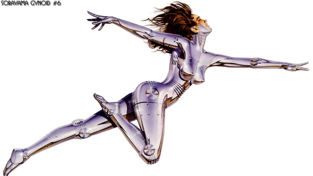 pin-ups - The Singularity is Sexy: The Loveliest Robot and Cyborg Art [
