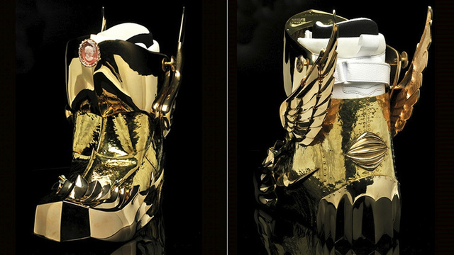 You Won't Believe How Complicated It Is to Gold Plate a Nike Boot