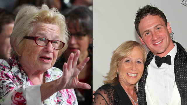Dr. Ruth Rips Ryan Lochte's Mom a New One Over One-Night Stand Comments