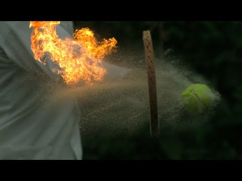 Click here to read Slow-Motion Flaming Tennis Should Be an Official Olympic Sport