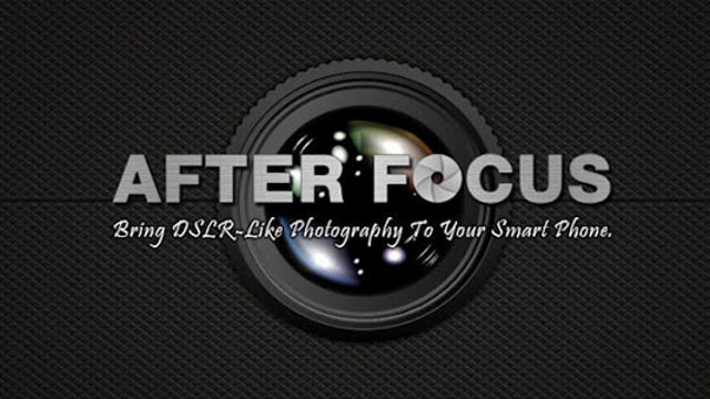 Click here to read After Focus for Android Brings DSLR-Like Options to Your Phone