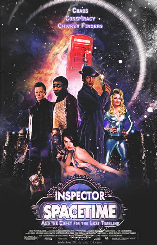 This poster makes us long for an Inspector Spacetime movie