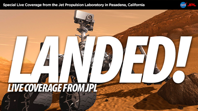 The Mars Rover Landing, 281-Gigapixel Images, Accidental Mail-Order Rifles, iPhone 5 Mock-Ups, And More